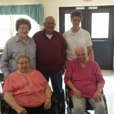 Family lunch.   Had an enjoyable time with the Theisen family.   Lots of laughs, good food and made a great memory.    - Susan Arrowood