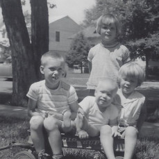 - Renee (standing)., Richard, Paul, Karen Rochester