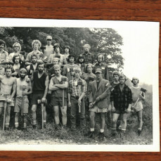 Bobe' and the 1977 White Mtn Crew - Paul