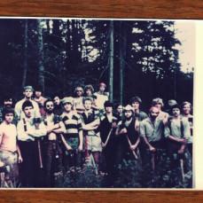 1978 crew, Bobe' on the far left - Paul