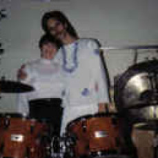 Our first concert together. November of 1987. Unity Church Peoria. - Mark Smith
