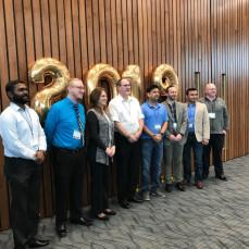 UIS Online Student Graduation Brunch Celebration in May 2019. - Donna Greer, MIS Dept. at UIS