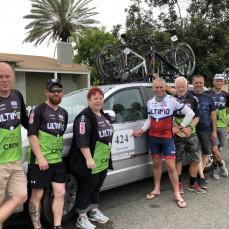 Team iRONman RAAM 2019 - Kristine Twigley - Team iRONman 2019