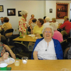At Aunt Kate's 90th birthday celebration - Luana Walker