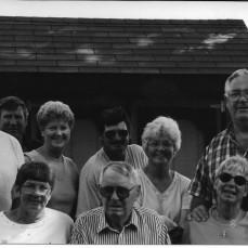 Clifford Deutsch and children 1998 - Luana Walker