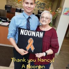 We Love you Nancy! - Lisa Noonan
