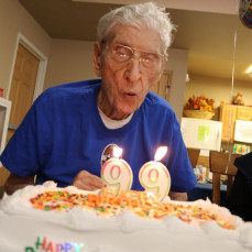 99th Birthday - Russ Hanus