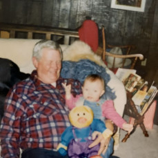 Grandpa and the family  - Jayde B