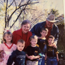 Grandpa and the family ❤️ - Jayde Brink