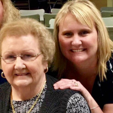 I'm going to miss you so much mom. You were the most loving and caring mom. You were my best friend. I love you! ❤️❤️ - Vicki Carpentier