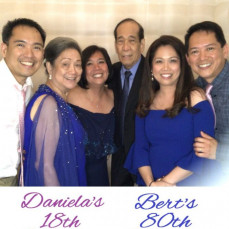 We terribly miss you, Dad!  - Dea Buhain