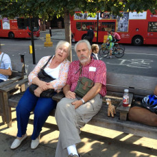 Mom and dad in england - Jeffrey Leister