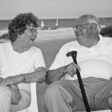 Best father-in-law a guy could ask for.  A kind and gentle man who sincerely looked out for the best interest of others. His love for June and his family will always be remembered.  These photos were taken 4 short years ago during a family vacation to the Outer Banks. - Philip Buss