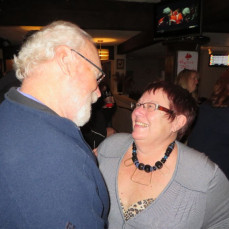 Dave and Judy dancing to the Shagwells at the Red Rooster a few years ago. - Tom Spoelman