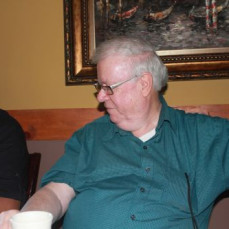 Uncle Bob at our party for our Grandsons first visit to New Jersey. - Cindy Gill