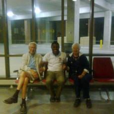 Donald and Jan Payers with Babasola Olugasa - Babasola Olugasa
