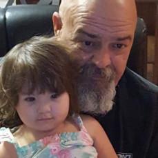 Vivian and her Papa - Kayla Forbes