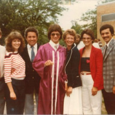 Her youngest graduating from high school in 1982 - Greggory Hockemeyer