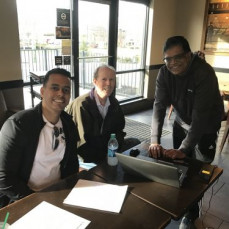 John, Sudhir and I meeting on Saturday, April 8, 2017 at a local Starbucks in New Jersey during the final weeks of the reactor coolant pump replacement at Salem. John was a tireless coworker and a true inspiration during my early career at PSEG Nuclear. Will miss him deeply. - Eduardo Castillo