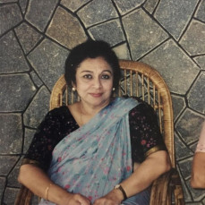 My Aunty, Mrs.Mary Joseph, during one of her visits to India and visit to our home in Kerala in early 20's - Joe