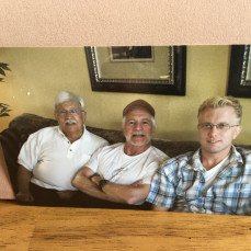 Carl, Jack Sullivan and Jeff Patalon in 2010.  - Jill Patalon