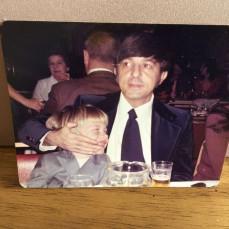Uncle Carl and John Field in 1975.  - Jill Patalon