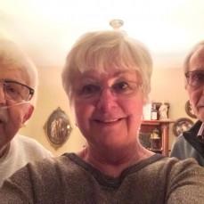 Carl, Jerry and Jill Patalon in 2019.   - Jill Patalon