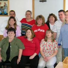 Mom at Betsy's party 2005 - Tonja