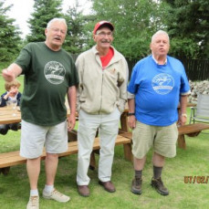 The attached photos are from the 2017 Family Reunion we held near Riding Mountain National Park in Manitoba to celebrate Canada's 150 years - Craig was the leader for the blue team - which somehow managed to win the 2-day challenge - Craig enjoyed being part of the broader family - Sheldon