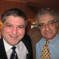 Chip Rosenson with Dr Feiner. - Liz Olsson