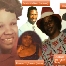 Have a peaceful home going to your loved ones Uncle Ricky!  - Candace Watson Mack