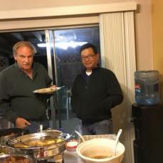 Maury at Thanksgiving Dinner  - Phut Seunsom