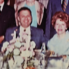From our wedding, Sept. 6, 1970 - Norman and Marilyn Elias