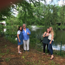 May 31, 2016We visited Fred at his place in NJ.Michael, myself, Catherine and her best friend Brittani shared one of his beautiful outdoor walks (Fred took the picture) and then we discovered a new talent and hobby - his pencil drawings with amazing detail. I believe Fred Koved lived life to its fullest! - Teresa Weatherly