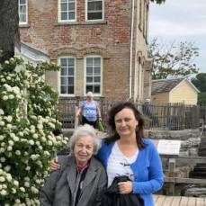 Maud and KC at saugerties lighthouse 6-2018. - KC West