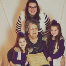 The best grandma anyone could ask for! - Megan Garcia