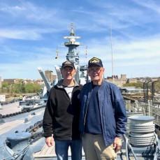 Wally  Reminiscing About His Days At Sea on The CV-20 Bennington - Drmini