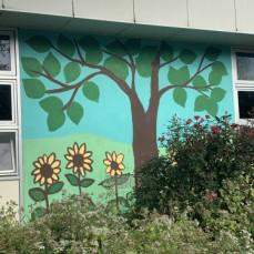Mr. Float Mural Ft Wash Elem - Carol Howarth Kocher