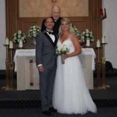 Rev. Msgr. Joseph William Pokusa, Jr. married my son Marc and Becky  - Michael Di Francesco