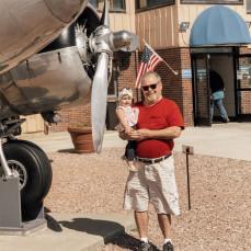 Papa meets his great granddaughter Olivia ♥️ - Mackenzie Storck