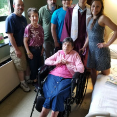 I will alway remember Mary as being there for her children and grandchildren.   - Arnold Restivo
