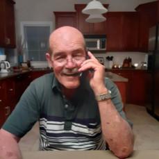 Roy at home July 2020 - Karen K Schultz