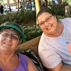 Mare Mare and me at the Iowa State Fair (of course!) - Lisa Johnson