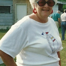 Aunt Marilynn at my mom and dad's 50 anniversary party. 1991 - Marilynn Hibbard