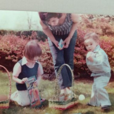 Memories from Maple Shade and Blue Anchor. Grandmon Lucy gave us the best Easter Egg hunts! - David Bullock