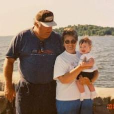 Bob, Loah, and granddaughter Elli - Abby