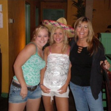 Elyse and I used to go to Mexican restaurants and tell them it was our birthday so we could get the sombrero and free desert! Cynthia was always on board and was always such a supportive mom. She wasn't a demanding mom and always allowed you to be yourself. You are and will be truly missed.  - Kaytlynn Marceaux