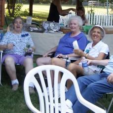 2007 Loddo Family reunion.  Joe with sisters and Bertha. - Chris Cooper
