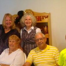 Elise Lambert McNeese, Diane Lambert, Betty & Ron Stahl, Connor McNeese in Cedar, MI  (July 2017) - Elise Lambert McNeese