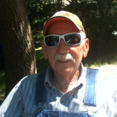 'Pops' looks better in my shades than I do! - Darrel Nelson